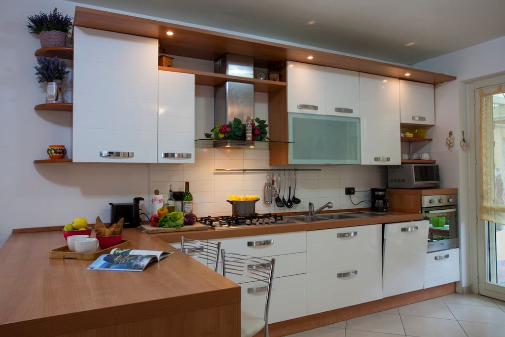 Casa Oscar has a kitchen full equipped