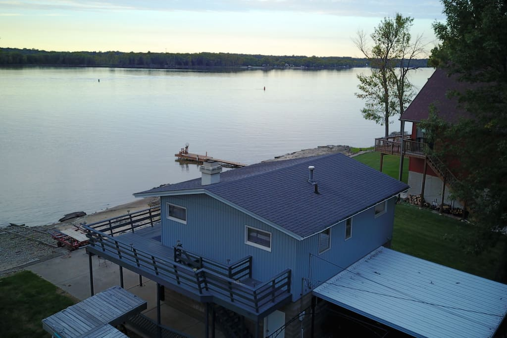 Gorgeous view on Mississippi River.