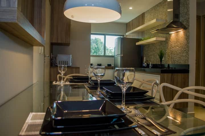 Premium flat Ponta Negra Brisa 902