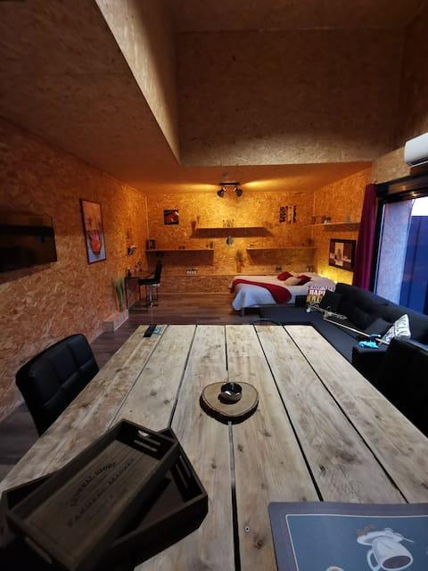 Loft privatif et atypique aux portes d'Angers