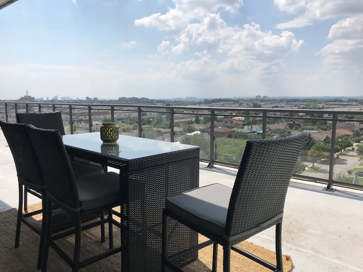2 BR Condo + huge private terrace