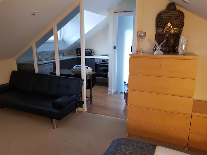 Cosy 1 bed flat annexe in the Cotswolds