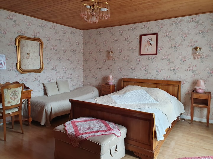 Chambre romance N°1