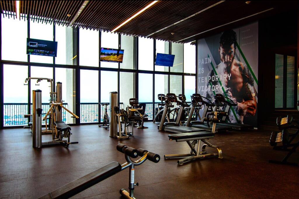 Gym en el piso 19