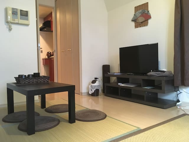 12-04 [JAPANESE TATAMI ROOM]!! NEAR SHINSAIBASHI!! - Chuo Ward, Osaka - Appartement