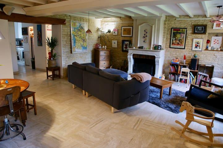 Chambre privée dans maison de ville quartierVenoix