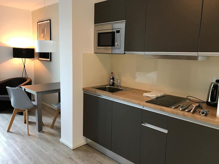 NEW LUXURY CITY BUSINESS APARTMENT+WLAN+TV *****