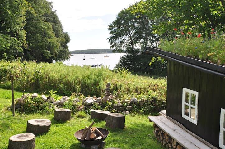 Privat shelter på Øhavsstien