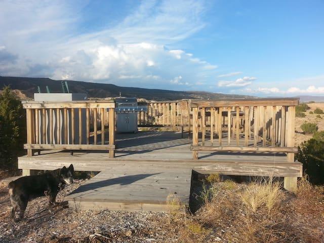 End of El Camino Real Ohkay Owingeh, New Mexico