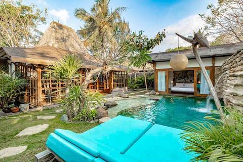 Kuno Boutique Eco 2-BR huvilat yksityisellä uima-altaalla