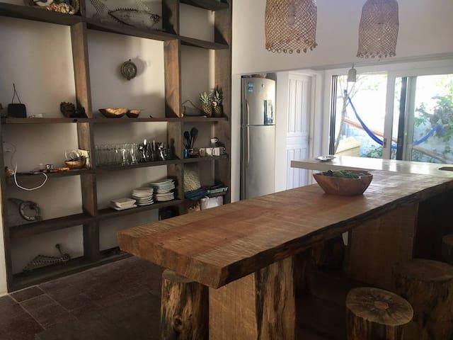 Habitación compartida en hermosa casa / La Barra - El Tesoro - Haus
