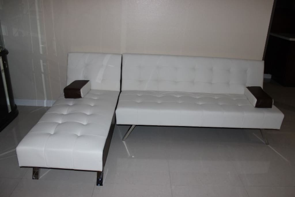 Another view of Sofa-bed in living room
