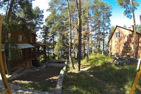 House on forest camping - Kasimov
