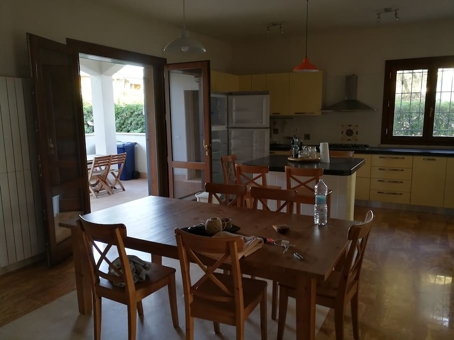 Grande cucina open space