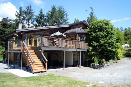 Country residence, comfortable room - North Saanich - Bed & Breakfast