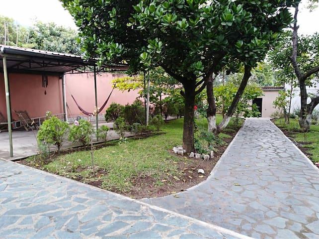 Casa de descanso cercana al lago de Amatitlan