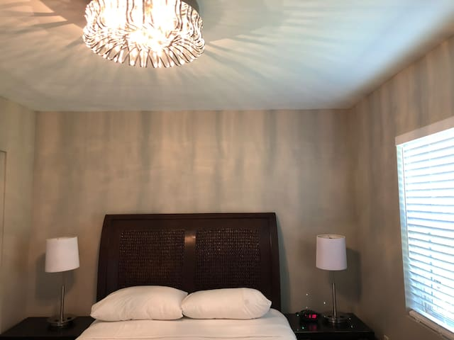 One bedroom non smoking apartment w/parking space