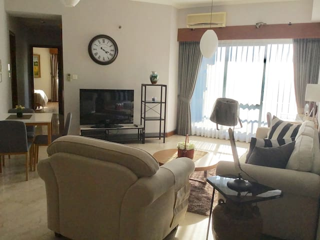 A cozy all newly furnished apartment in the heart of West Jakarta