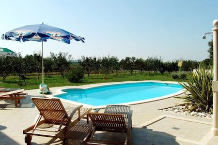 Two bedroom app Villa Brig with private pool - Jakovici