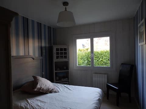 Chambres individuelles entre forêt et plage