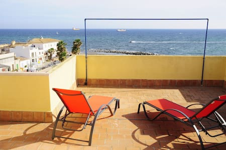 Penthouse/studio/loft in Portixol with great views - Palma - Loft