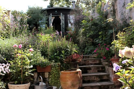 ❤  Romantic Garden Cabin in the Heart of Lewes