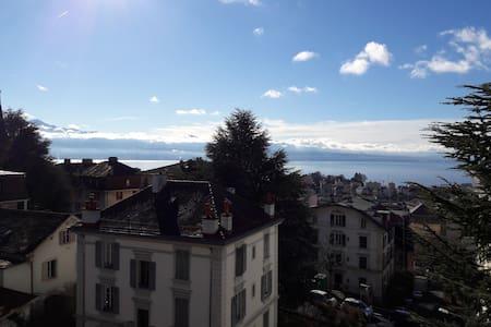 Chambre privée à Lausanne 1004 - Lausanne - Huoneisto