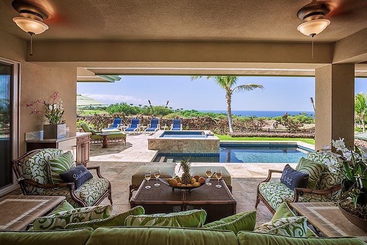 UV327-Beautiful 3 Bedroom Villa In Wai'ula'ula w/Private Pool & Ocean Views!