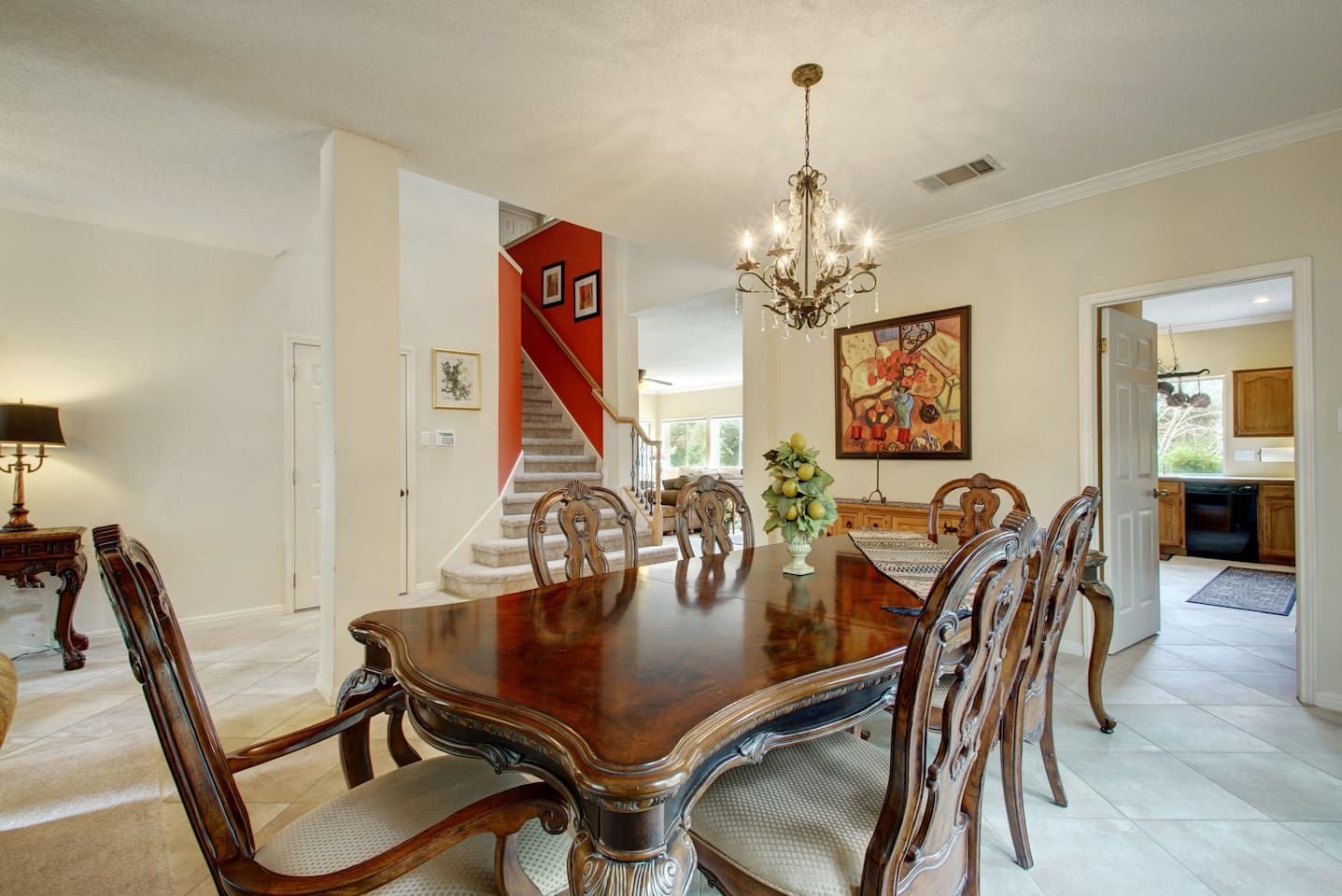 One of Three  Dining Areas At This 3200 Square Foot Home