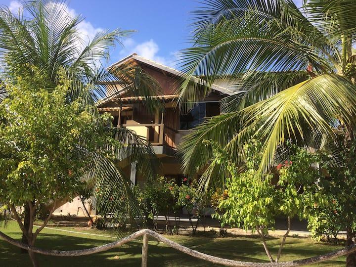 Ferienhaus mit 5 Zimmern  100 Meter vom Strand