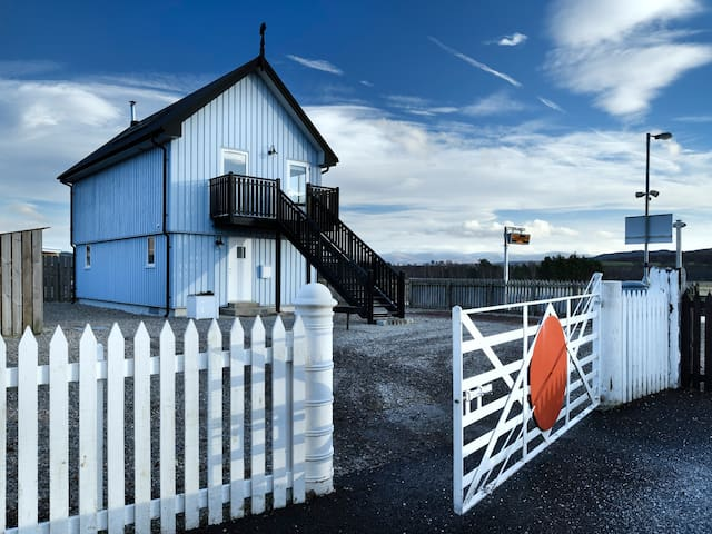 SIGNAL BOX, character holiday cottage in Newtonmore, Ref 1304