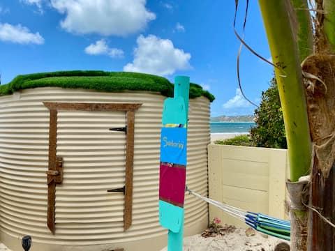 Cabin Santorini at Australian Kite Surfari!