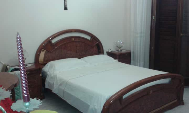 camera matrimoniale in villa rosetta