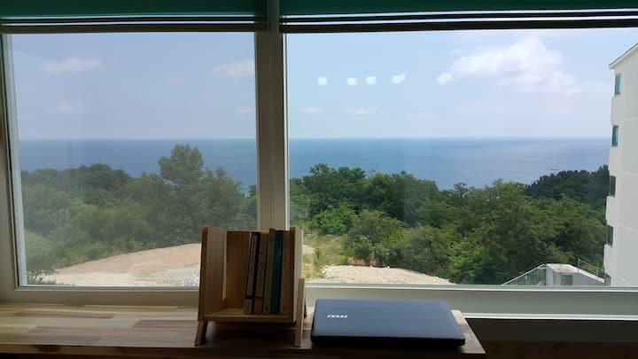 Beautiful Relax-햇몸 하우스-오션뷰/ 영화 '봄날은 간다' 배경 아파트-묵호항