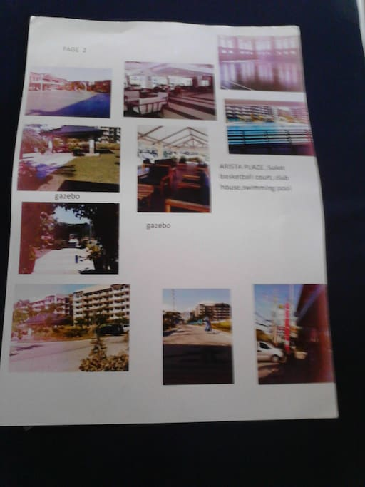 Some amenities as indicated; Frontage, w/mini-mall across