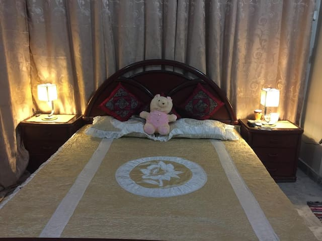 Full Furnished wedding Suite with Attached Bath and Airconditioning