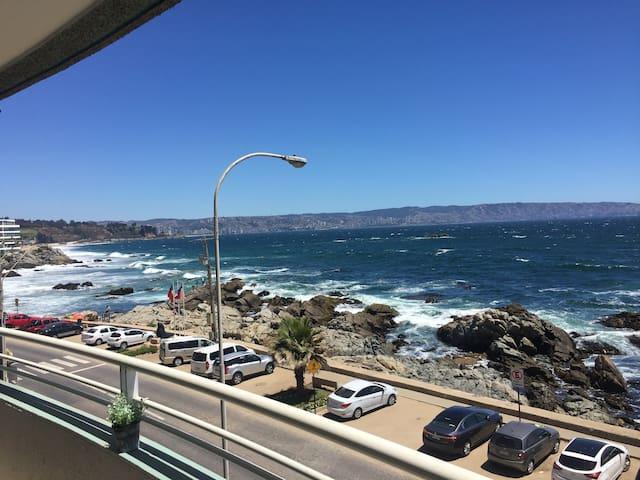 Reñaca frente al mar. La mejor vista y ubicación.