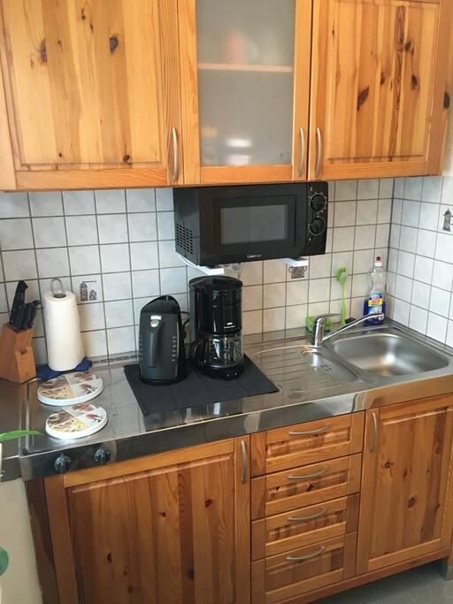 Küche mit Ausstattung