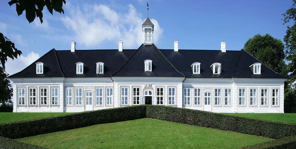 Dobbelt værelse på Sophienberg Slot