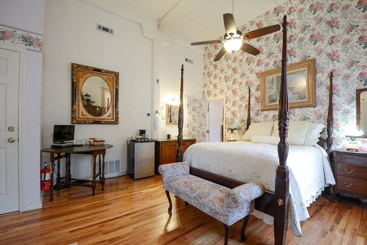 Brownstone Garden Suite, Flat/Easy walk to Downtown, View of Train Station, Amazing Architecture