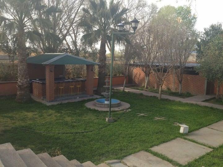 Casa de campo hacienda Barragan