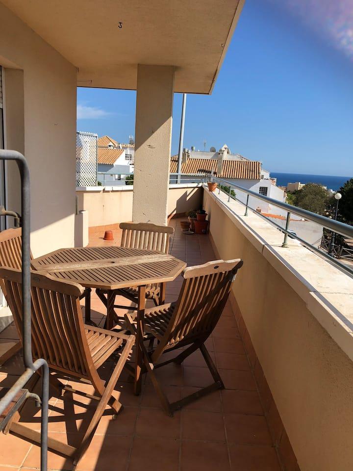 Appartement belle vue, superbe terrasse