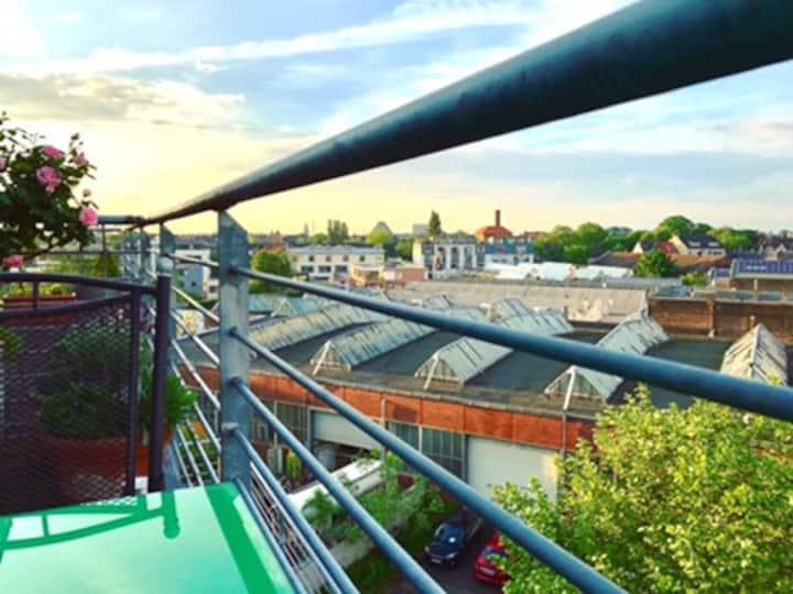 Penthouse mit Dachterrasse, 60qm Köln-Ehrenfeld