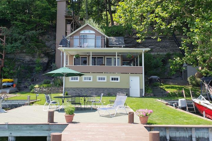 Lakehouse on Cayuga