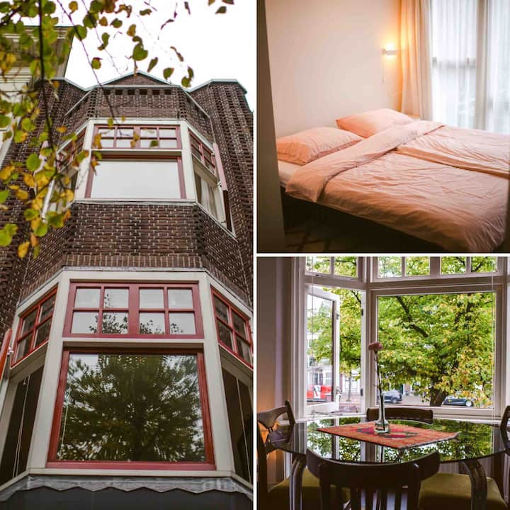 Private Apartment in Cute Schiedam B&B Elderflour