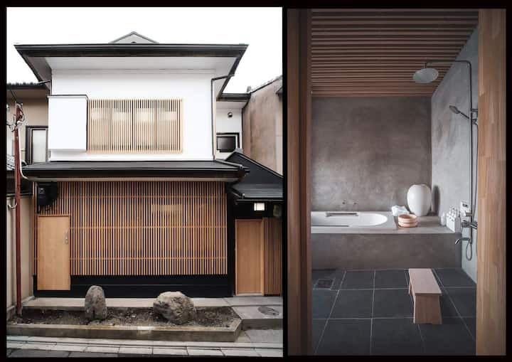 Modern Machiya -  Luxury in central Kyoto - 4 Bdrm