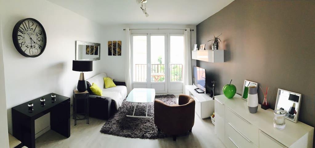 Appartement 3 pièces avec parking - Joinville-le-Pont - Apartemen