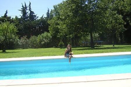 Villa de plein pied avec piscine - Mondragon - Huis