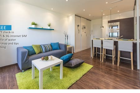 Cosy family flat in centre / FREE 3G sim card - 布拉格