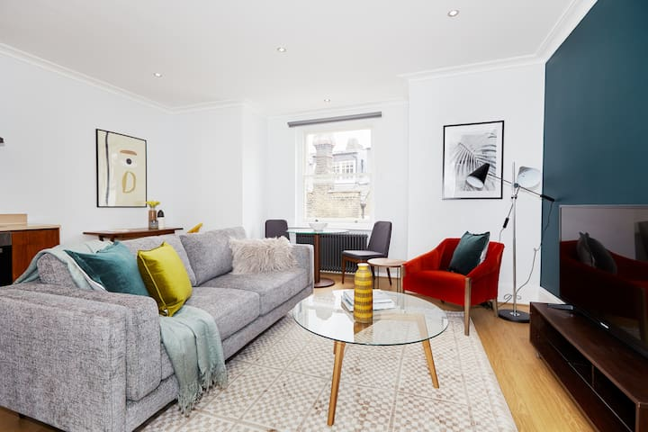Sonder | Hans Place | Lovely 1BR + Workspace